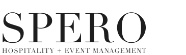 SPERO Hospitality + Event Management